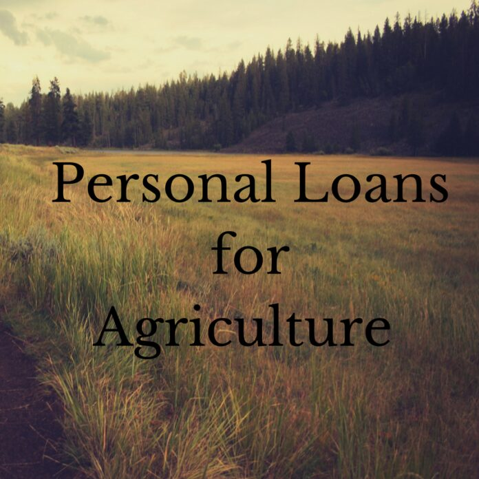 Personal Loans for Agriculture
