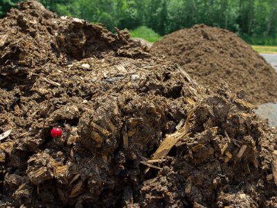 Bulky organic manures