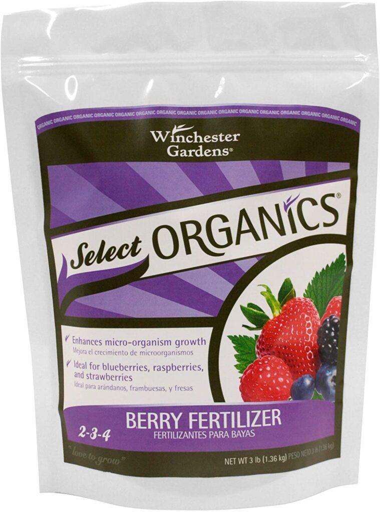 Winchester Gardens Select Organics Berry Granular Fertilizer