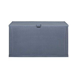 KOOLWOOM Deck Box, 120-Gallon Patio Outdoor