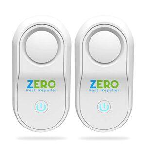 ZEROPEST Ultrasonic Pest Repeller 2020 Upgraded