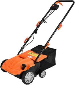 Goplus 2-in-1 Lawn Dethatcher
