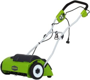 Greenworks14-Inch Corded Dethatcher