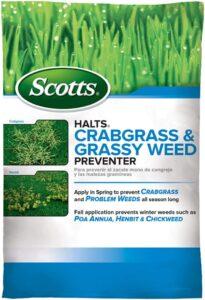 Scotts Halts Crabgrass Preventer
