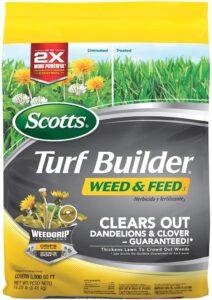 Scotts Turf Builder Weed